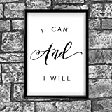 Motivational Inspirational Positive Thoughts Quote Poster Picture Print Wall 42 - A4 (21 x 30 cm)