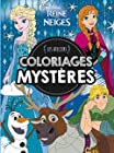 La Reine des Neiges, ATELIERS DISNEY - COLORIAGES MYSTERES