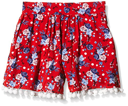 Pumpkin Patch Bobble Trim Floral Skort - Jupe - Fille Pumpkin Patch