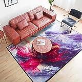 Farbe Home Anti-Rutsch-Teppich Wohnzimmer Zimmer Schlafzimmer Kopfteil mehrere Größen (größe : 140x200cm(55x79inch))