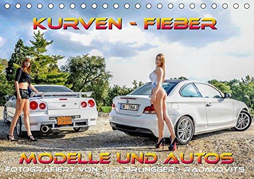 Kurven - Fieber - Modelle und Autos (Tischkalender 2019 DIN A5 quer): Schöne Modelle mit tollen Autos. (Monatskalender, 14 Seiten ) (CALVENDO Mobilitaet) - Modelle Erotik