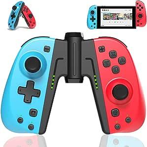 TUTUO Switch Controller per Nintendo Switch, Bluetooth Wireless Joystick Gamepad Controller Sostituzione per Joy con Compatibile con Nintendo Switch - Supporto connessione cablata