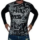 CIPO&BAXX Pullover Sweatshirt Longsleeve Super Optik Grössen S-M-L-XL (S, Schwarz)