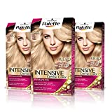 Palette Intense Cream Coloration Intensive Coloración del Cabello 10.2 Rubio Nácar - Pack de 3