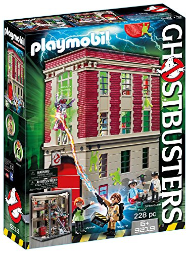 Playmobil 9219 Ghostbusters™ Fire Headquarter