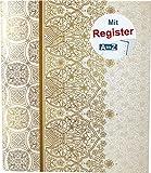 RNK 46703 Ringbuch, für DIN A5 mit Register A-Z,'Alhambra'
