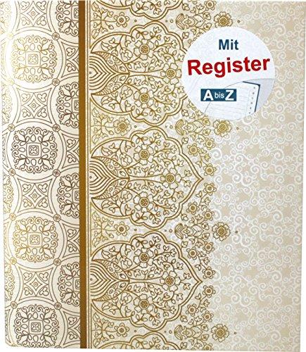 "RNK 46703 Ringbuch, für DIN A5 mit Register A-Z,\""Alhambra\"""