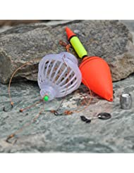 Lixada set de flotteur de pêche Monster de mer avec six hameçons fortes+Bobber de pêche