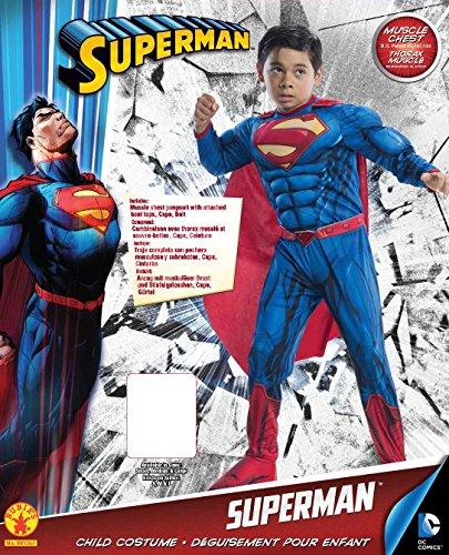 Imagen de rubie's  disfraz de super man para niños de 5  7 años vz 2980  alternativa