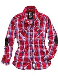 Surplus Femme Trooper à carreaux Chemise à manches courtes