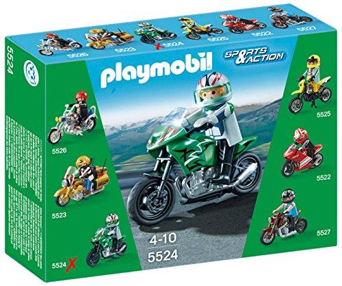 Playmobil Coleccionables Playset moto deportiva (5524)