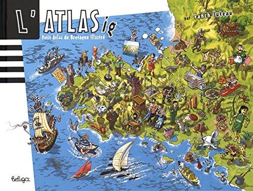 Atlas de Bretagne illustré