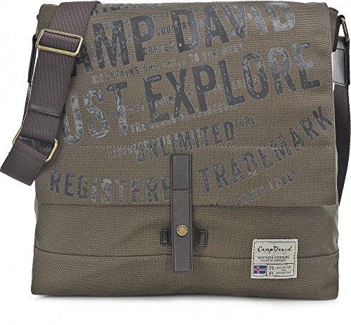 Camp David Yukon River Sac bandouliére Messenger 35 cm khaki