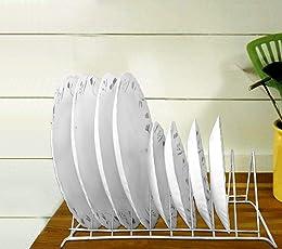 CELONA Dish Rack Stainless Steel   Rack Organizer   Dish Rack   Plate Stand   Dish Stand   Utensil Rack   Dish Rack Drainer