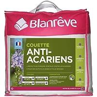 blanrêve CTPHYVD011420 Couette Anti-Acariens Chaude, Polyester, Blanc, 140 CM x 200 CM