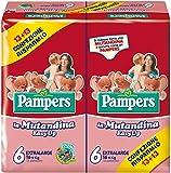 Pampers Easy Up, 26 Pannolini - Extralarge, Taglia 6 (16+ kg), 2 confezioni da 13