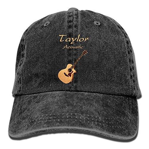 Preisvergleich Produktbild shengpeng Taylor Acoustic Guitars Denim Hat Adjustable Men Dad Baseball Hat