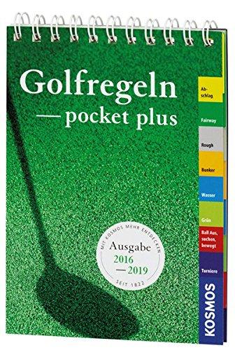 Preisvergleich Produktbild Golfregeln pocket-plus 2016-2019