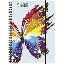 Brunnen 1072985049 Schülerkalender Schmetterling, 2018/2019