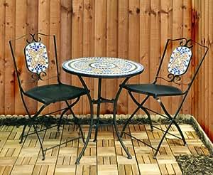 Kingfisher FSBM Mosaic Bistro Set