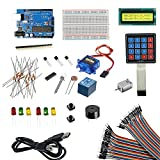Rees52 Lcd1602 Arduino Uno Project Starter Kit for Arduino, Multicolor