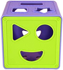 Happy GiftMart HQ 9 Main Shape Designs Shape Sorter Non Toxic for Baby and Infants Educational Block Toy