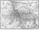 Essex. Colchester, Sketch map - 1898 - Old Antique Vintage map - Printed maps of Essex