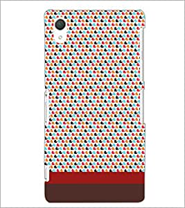 SONY XPERIA Z2 PATTERN Designer Back Cover Case By PRINTSWAG
