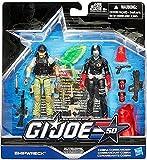G.I. Joe, 50th Anniversary, Hunt for Cobra Commander Action Figure Set [Shipwreck vs. Cobra Commander], 3.75 Inches