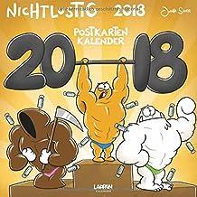 Nichtlustig Postkartenkalender 2018