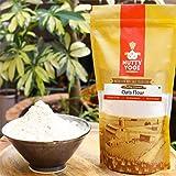 Nutty Yogi Gluten Free Oats Flour (Atta), Gluten Free, Rich in Fibre, 1 kg