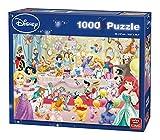 King Disney Birthday Party 1000 pcs 1000pieza(s) - Rompecabezas (Jigsaw puzzle, Dibujos, Adultos, Disney, 8 año(s), Hombre/Mujer)