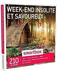 Smartbox - Coffret Cadeau - Week-End Insolite et Savoureux - 210 Sjours : Cabanes, Yourtes, Roulottes, Tipis, Chteaux, Maisons D'Htes