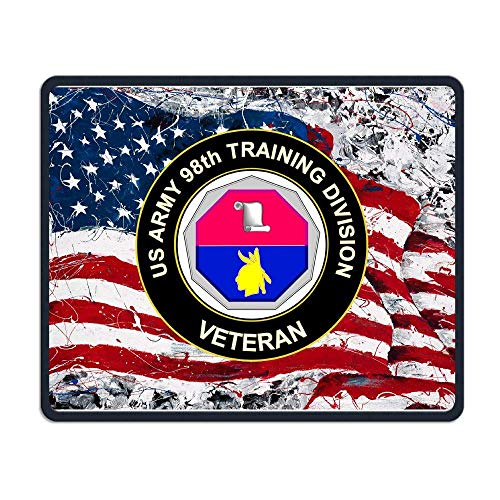 US Army Veteran Training Division Maus-Pads Non-Slip Gaming Mouse Pad Mousepad for Working,Gaming and Other Entertainment