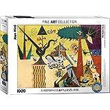"""Eurographics """"Joan Miró Tierra labrada"""" Puzzle (1000 piezas, Multi-Color)"""