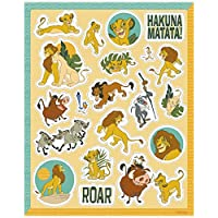 Unique Disney Lion King Stickers - 4 sheets of 20 stickers