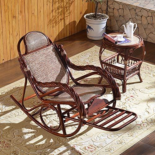 silla mecedora perezosa antigua