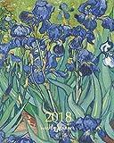 Weekly  Planner 2018: Calendar Schedule Organizer Appointment Journal Notebook To do list and Action day 8 x 10 inch art design, Irises 1889 - Vincent van Gogh artist: Volume 82