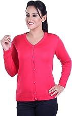 Ogarti Ladies Woolen Full Sleeve Cardigan