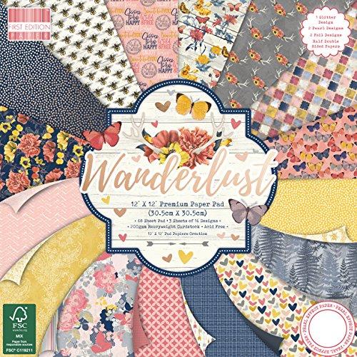 First Edition Wanderlust Premium Paper Pad 12