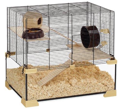 Ferplast Karat 60 Cage en Verre pour Hamsters et Souris