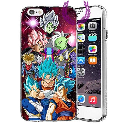 Étuis Coque iPhone Dragon Ball Z Super GT Case Cover - Dernières conceptions uniques - Derniers modèles - Tous les modèles iPhone - Neuf - La plus haute qualité - Tournament Of Power - Goku Black Rose - Goku Blue - Gohan - Jiren - Vegeta Blue - DBS - DBZ
