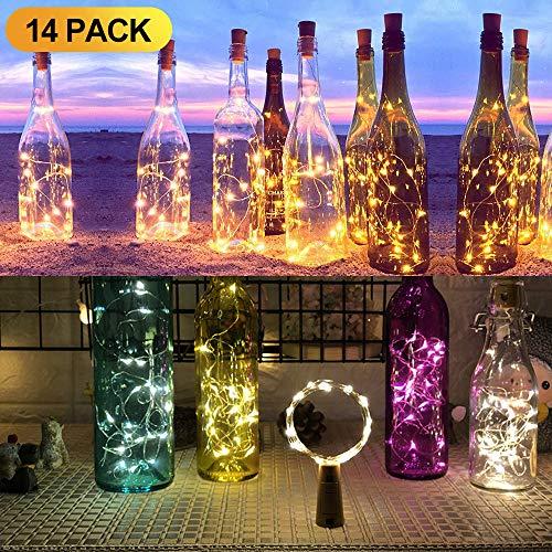 14 Pack luz de Botella
