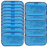igemy zu wischen Tücher 15Wet für iRobot Braava 380380T 320mint 42004205 blau