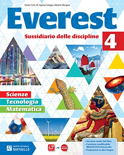 Everest matematica e scienze. Per la Scuola elementare. Con e-book. Con espansione online: 4