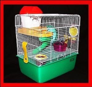 Liberta Libra Hamster Cage, Small, 38 x 34 x 23 cm