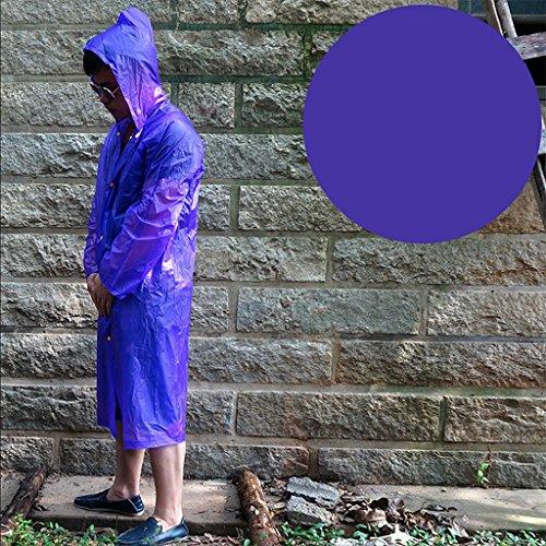 Outdoor escalade marche portable créatif couleur des bonbons coupe-vent couple imperméable poncho ( Couleur : S ) F