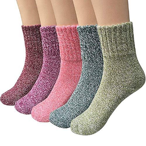 YIQI Calcetines de Invierno para Mujeres