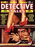 Wee Blue Coo LTD Magazine Cover Detective Tales Murder Art Canvas Print