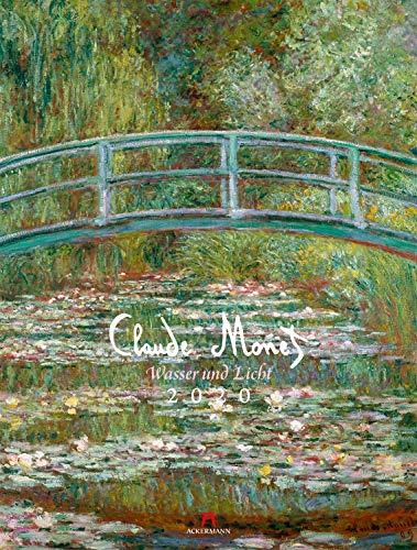 Claude Monet 2020, Wandkalender im Hochformat (50x66 cm) - Kunstkalender (Impressionismus) mit Monatskalendarium